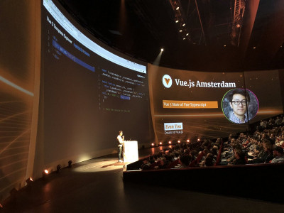A Magento Master at VueJS Amsterdam