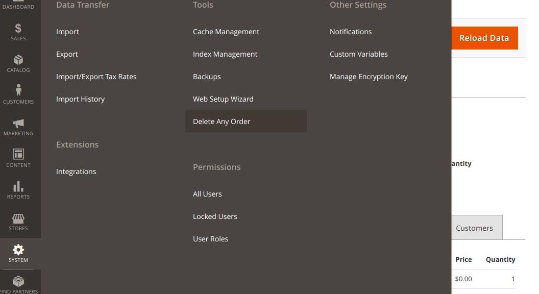 screenshots/deleteanyorder2/deleteanyorder2_backend_menu.png